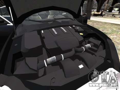 Jaguar XFR para GTA motor 4