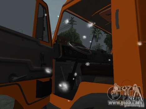 KAMAZ 53215 para visión interna GTA San Andreas