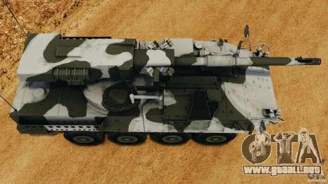 Stryker M1128 Mobile Gun System v1.0 para GTA 4 visión correcta