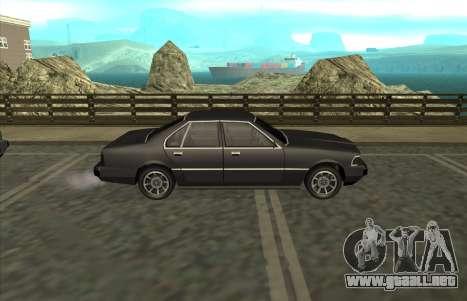 New Sentinel para la visión correcta GTA San Andreas