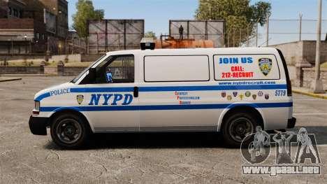 Policía Speedo para GTA 4 left