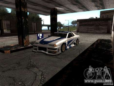 Vinilo con el BMW M3 GTR en Most Wanted para GTA San Andreas left