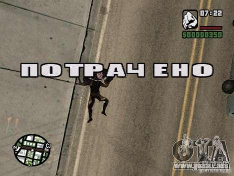Zombe from Gothic para GTA San Andreas octavo de pantalla
