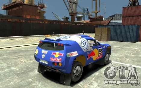 Volkswagen Touareg Rally para GTA 4 visión correcta