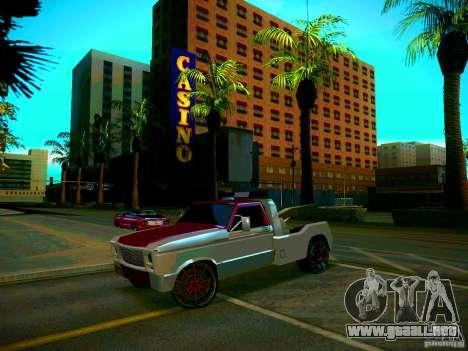 Towtruck tuned para la visión correcta GTA San Andreas