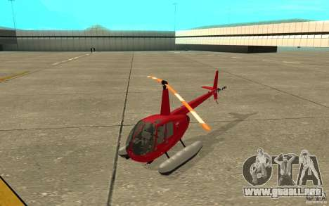 Robinson R44 Clipper II 1.0 para GTA San Andreas left