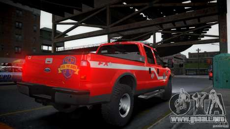 Ford Chief F250 para GTA 4 left