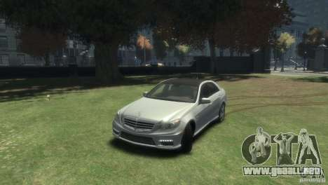 Mercedes Benz E63 AMG v2.0 para GTA 4
