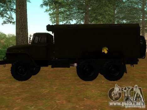Ural 4320 Kung para GTA San Andreas left