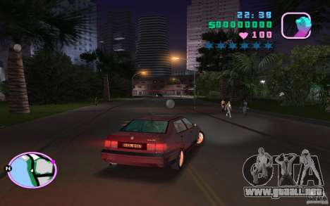Volkswagen Vento VR6 para GTA Vice City left