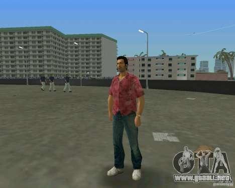 Tommy en HD + nuevo modelo para GTA Vice City quinta pantalla