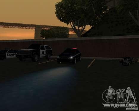La labor de la policía. para GTA San Andreas tercera pantalla