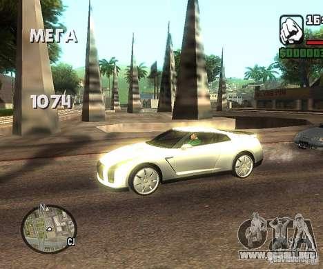 Discos en cualquier lugar para GTA San Andreas tercera pantalla