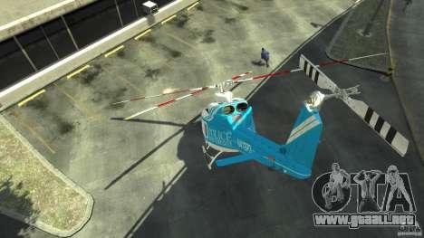 NYPD Bell 412 EP para GTA 4 visión correcta