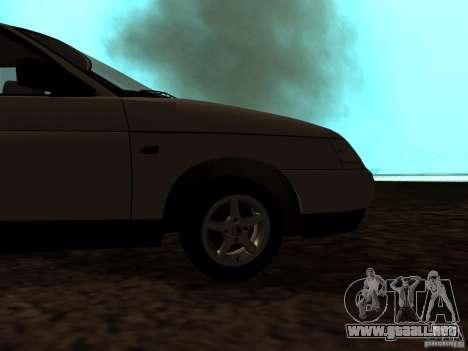 VAZ-21103 para GTA San Andreas vista hacia atrás