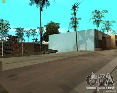 Car in Grove Street para GTA San Andreas sexta pantalla