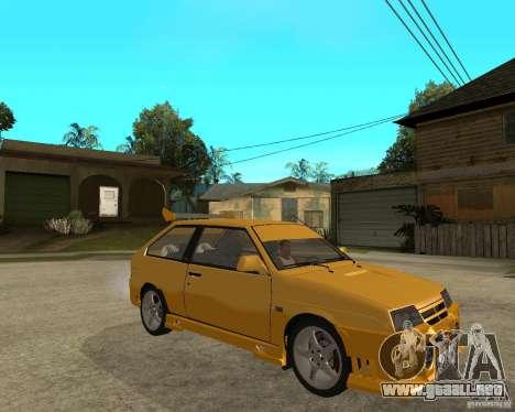 ВАЗ 2108 deporte yuca para la visión correcta GTA San Andreas