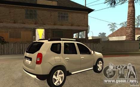 Dacia Duster 2010 SUV 4x4 para la visión correcta GTA San Andreas