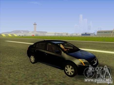 Nissan Sentra 2012 para visión interna GTA San Andreas