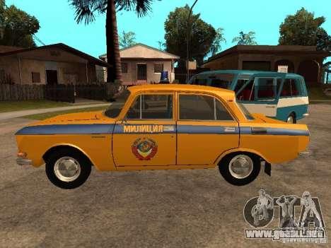 Versión temprana de la milicia AZLK 2140 para GTA San Andreas left