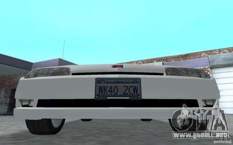 Saturn Ion Quad Coupe para GTA San Andreas left