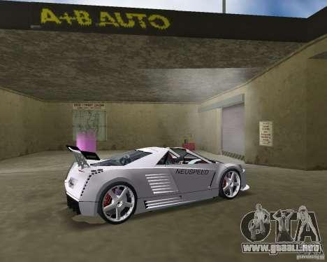 Cadillac Cien Shark Dream TUNING para GTA Vice City vista lateral izquierdo