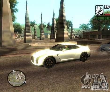Discos en cualquier lugar para GTA San Andreas