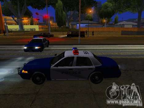 Ford Crown Victoria Belling State Washington para las ruedas de GTA San Andreas