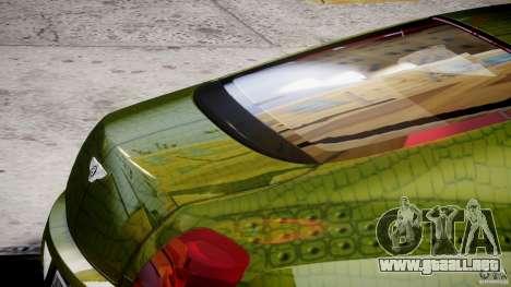Bentley Continental SS 2010 Suitcase Croco [EPM] para GTA 4 vista desde abajo