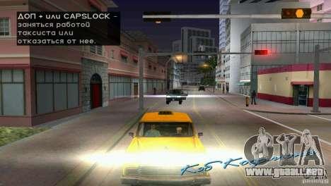 Pasajeros de montar a caballo para GTA Vice City quinta pantalla