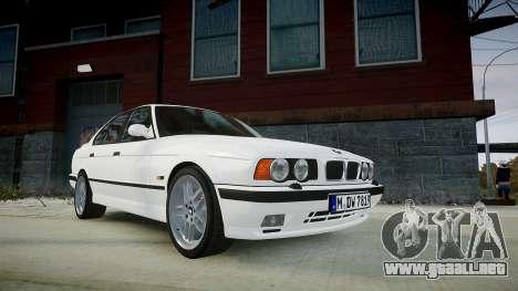 BMW M5 (E34) 1995 v1.0 para GTA 4
