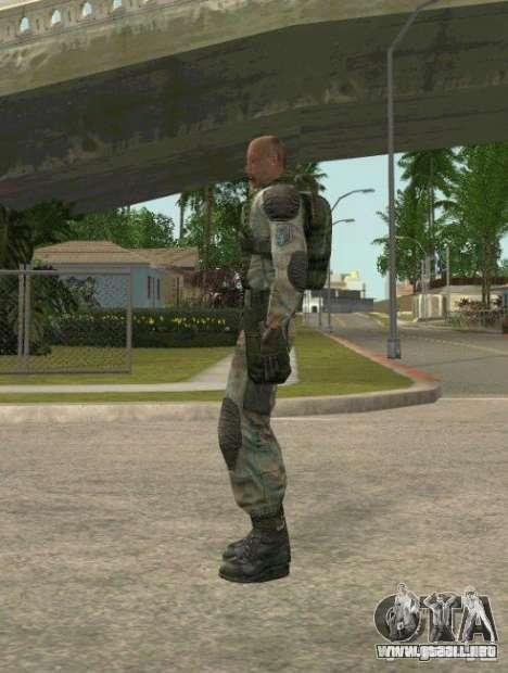Lebedev de S.T.A.L.K.E.R. clear sky para GTA San Andreas segunda pantalla