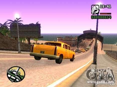 Timecyc BETA 2.0 para GTA San Andreas sexta pantalla