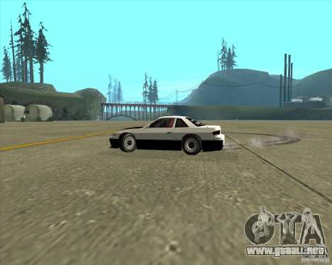 Nissan Silvia S13 streets phenomenon para visión interna GTA San Andreas