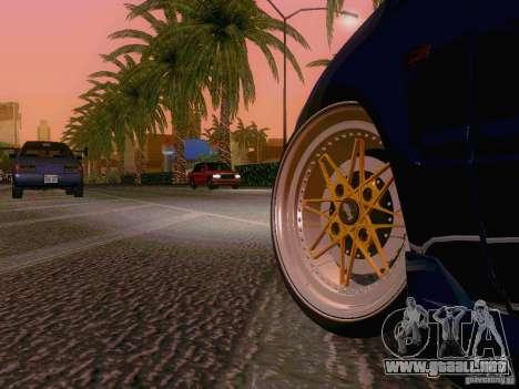 Honda Civic JDM Hatch para GTA San Andreas vista hacia atrás