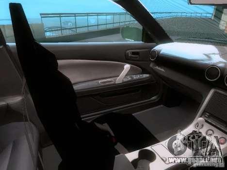 Nissan Silvia S15 drift para visión interna GTA San Andreas