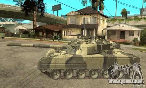 T-80U MBT para GTA San Andreas left
