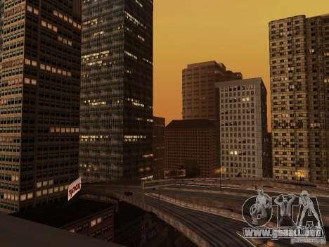 Nueva textura de rascacielos Downtown para GTA San Andreas tercera pantalla