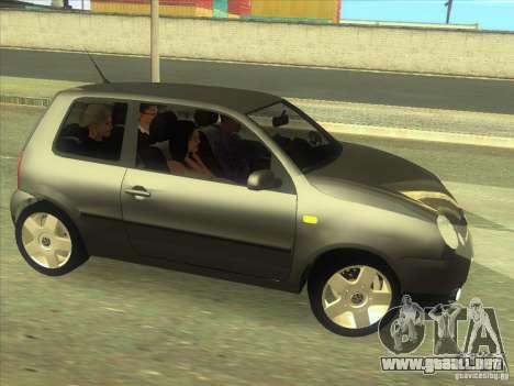 Volkswagen Lupo para visión interna GTA San Andreas
