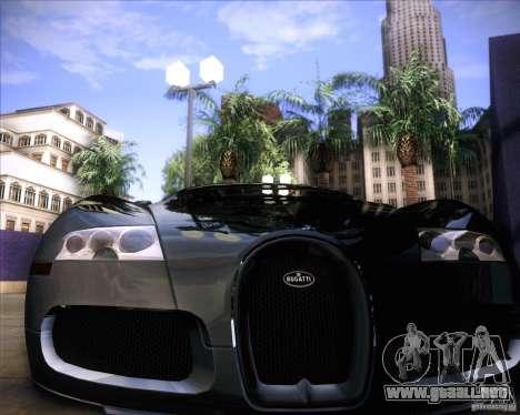 Bugatti Veyron Super Sport para vista inferior GTA San Andreas