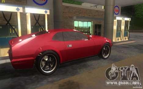 AMC Javelin 2010 para GTA San Andreas vista posterior izquierda