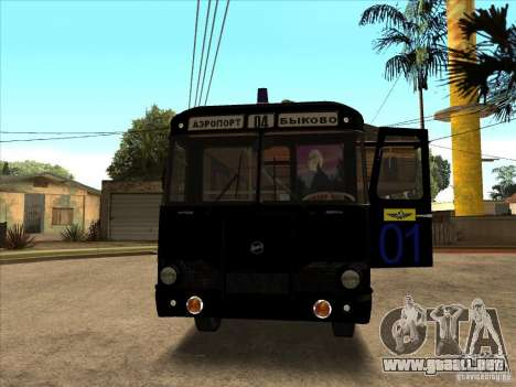 LIAZ 677p para GTA San Andreas left