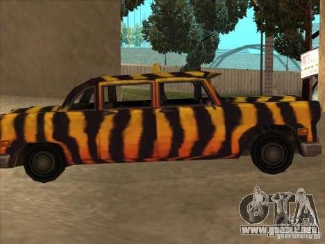 Taxi cebra de Vice City para GTA San Andreas left