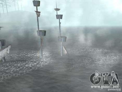 Barco pirata para GTA San Andreas quinta pantalla