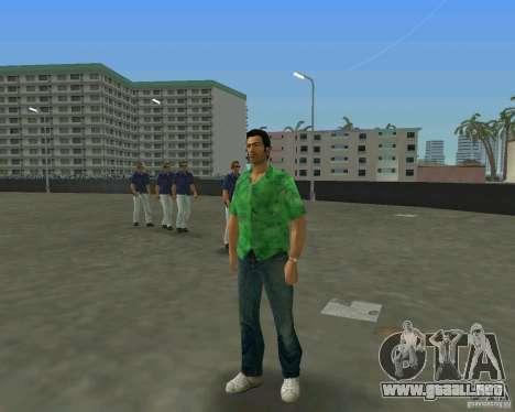 Tommy en HD + nuevo modelo para GTA Vice City sucesivamente de pantalla