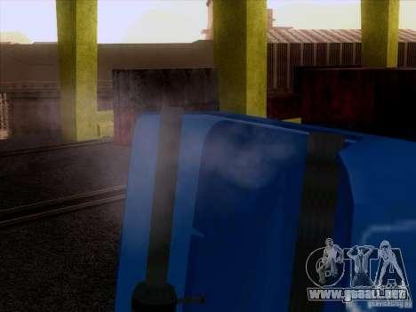 Freightliner Argosy Skin 1 para GTA San Andreas vista hacia atrás