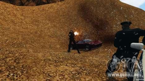 Bullet Time para GTA 4 quinta pantalla