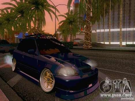 Honda Civic JDM Hatch para GTA San Andreas left