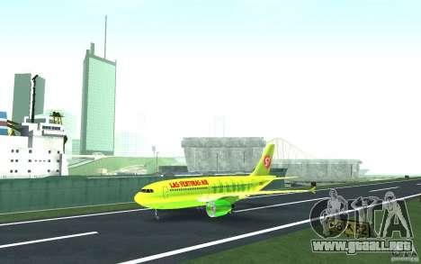Airbus A310 S7 Airlines para GTA San Andreas