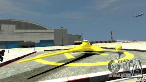 Naboofighter para GTA 4 Vista posterior izquierda